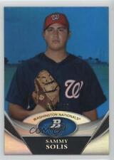 2011 Bowman Platinum Prospects Blue /199 Sammy Solis #BPP89