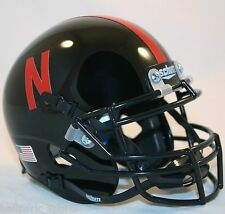 NEBRASKA CORNHUSKERS (BLACK ALTERNATE) Schutt XP Mini Helmet