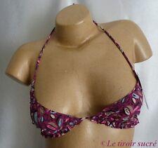PRINCESSE TAM TAM Harle haut de maillot de bain FR 40 EUR 38 USA S violet neuf