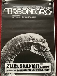 TURBONEGRO * Scandinavian Leather Tour 2003 * Stuttgart * Hank Von Hell