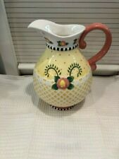"""2001 At Home with Mary Engelbreit """"Have a Heart"""" Pitcher"""