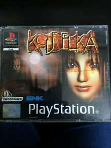 Koudelka VERY rare RPG. PS1 playable condition, crack on case