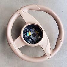 Porsche 997 987 981 991 Boxster Cayman Steering Wheel beige Louxor