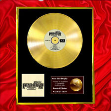 THE PRODIGY EXPERIENCE CD GOLD DISC RECORD FREE P&P!