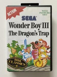 Wonder Boy III The Dragon's Trap Sega Master System AC GC PAL