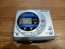 Sharp Portable Minidisc Recorder Model Md-Mt15 – Parts/Repair