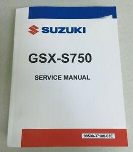 Suzuki OEM Service Manual 2018-2021 Suzuki GSX-S750 / GSX-S750Z 99500-37180-03E