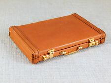 HARRODS Knightsbridge Miniature Leather Briefcase, Attache, Suitcase with Latch
