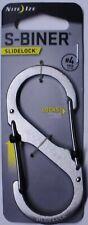 Nite Ize S-Biner Slidelock Carabiner Key Chain # 4 Stainless Steel LSB4-11-R3