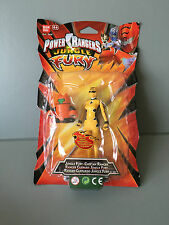 Power Rangers Jungle Fury Cheetah the yellow ranger and robot zord new sealed