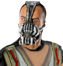 Licensed Batman Bane 3/4 Vinyl Costume Mens Adult Mask Scary Halloween, One-Size