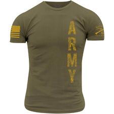Grunt Estilo Ejército-Vertical T-Shirt-tan 499