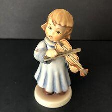 Goebel Hummel Celestial Strings Figurine Hum 2096F Tmk8 Angel Symphony *Repair*
