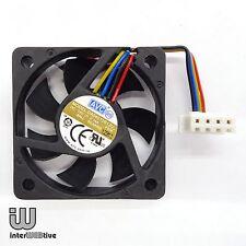 AVC 40mm 4CM 4010 Org small 4pin Dual Ball  Bearing computer case fan 12V 0.14A