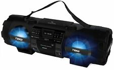 NEW NAXA Electronics NPB-262 MP3/CD Bass Reflex Boombox & PA System w/ Bluetooth