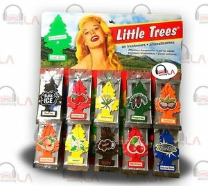 Set of 3pcs Little Trees Car Home Office Hanging Air Freshener