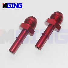 """3/8"""" Male to AN6 -6AN AN-6 Male Push On Quick Connect Fuel Fitting Adapter 2Ps"""