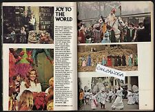 1976 TV ARTICLE~CHRISTMAS AROUND THE WORLD~VICKI CARR~ST NICK~HOLIDAY~TANNENBAUM