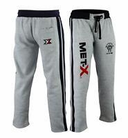 Men's Fleece Joggers Track Suit Bottom Jogging Exercise Fitness Met-X Muscle Gym