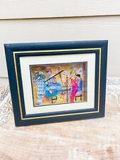 Jean-Pierre Weill Jazz Band Music Lounge Vitreography 3D Painting on Glass