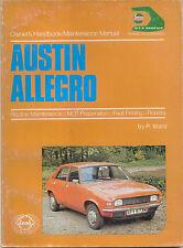Austin Allegro Owners Handbook / Maintenance manual all models from 1973-1974