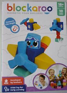 Blockaroo Magnetic Foam Builders STEM Toy For Early Learning