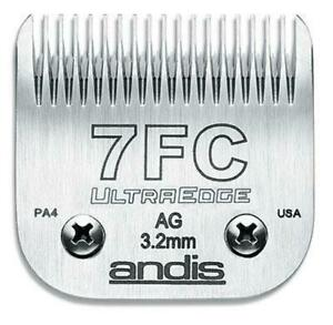 Andis Ultraedge Blade # 7FC 3.2mm fits Andis AG, AGC, AGR+ s Oster A5
