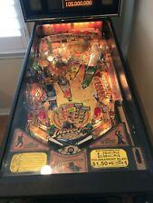2008 Stern Indiana Jones pinball machine - like new - documented - Home Use Only