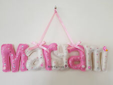 Baby Name Letters In Nursery Wall
