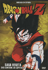 DRAGON BALL Z DVD SAGA VEGETA En Español Latino SPANISH 38 Capitulos NEW
