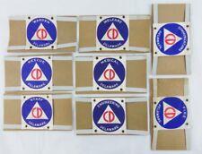 New listing 8pcs-Ww2 Period Cold War Era Delaware Civil Defense Specialist Armbands. Nos