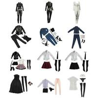 Sixth Scale Female Outfits Clothes Set for 1/6 Scale Action Figure Accessories