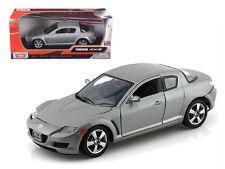 Mazda RX-8 Grey 1/24 Scale Diecast Car Model By Motor Max 73323