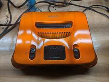 Nintendo 64 Console *PAINTED* Orange Candy Metallic