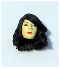 Petra Female Action Figure Head (1) Blk Hair Custom Fodder For Star Wars GI Joe
