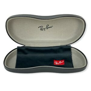 Authentic RAY BAN Large Hard Side Aviator Clamshell Eyeglasses Sunglasses Case