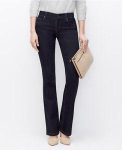 Ann Taylor - Regular Sizes Blue Modern Boot Cut Jeans $89.00 (D29)