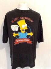BART SIMPSON 'RADICAL DUDE' VINTAGE 1990 T SHIRT LARGE
