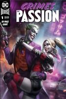 Crimes Of Passion #1 Exclusive Ian McDonald Harley Quinn & Joker Variant Presale