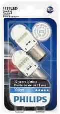 2x Philips 1157 Red LED 6000k 1016 Super Bright Light bulb Tail Stop SIDE MARKER