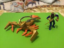 Power Rangers Samurai Clawzord + Instructions & Ranger Figure