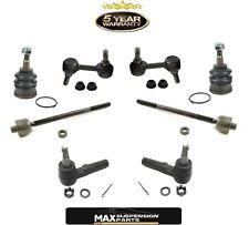 97-07 CORVETTE & Z06 4 Tie Rod Ends Lower Ball Joints Sway Bar Links 8Pc