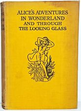 1920 ALICE IN WONDERLAND Antique FIRST ED Alice's RARE Adventures LEWIS CARROLL