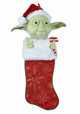 Star Wars Yoda Plush Christmas Stocking Official Disney Merchandise