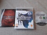 WHITE KNIGHT CHRONICLES PS3 PLAYSTATION 3 PREOWNED