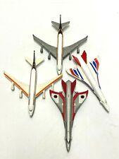 """MATCHBOX PLANE LOT - Sky Buster Passenger Boeing 747, Hypersonic Jet 3.5"""" White"""