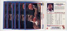 1X TYRELL BIGGS 1991 Kayo #84 Lots Available WBA WBC WBO IBF Boxing