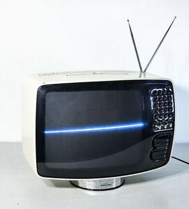 ⚜️ TELEVISORE BRIONVEGA VOLANS 17 VR DESIGN MARIO BELLINI TV VINTAGE ITALY 1970S