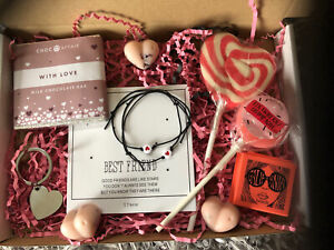 Letterbox Care Package Gift Box, Inc Benefit Make Up, WaxMelts, Choc Friendship