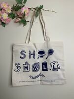 Shop Small Business Saturday Canvas Tote Bag Rifle Paper Co NWOT